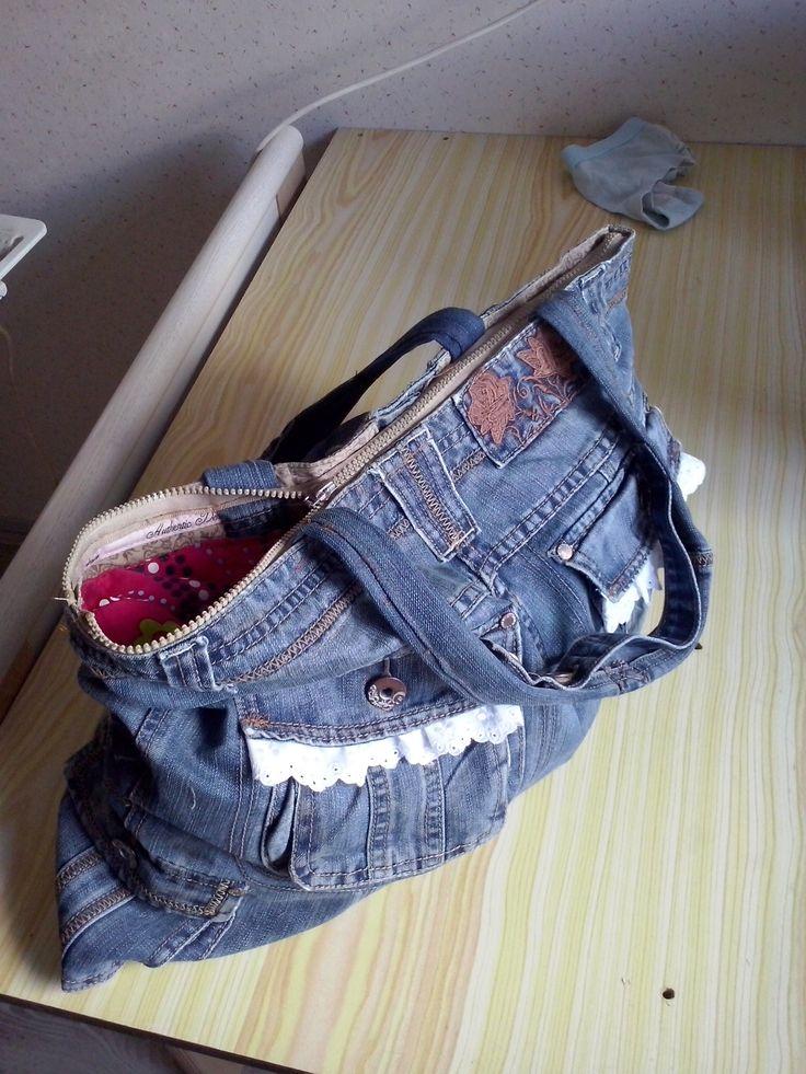 spijkerbroek tas aug 2015