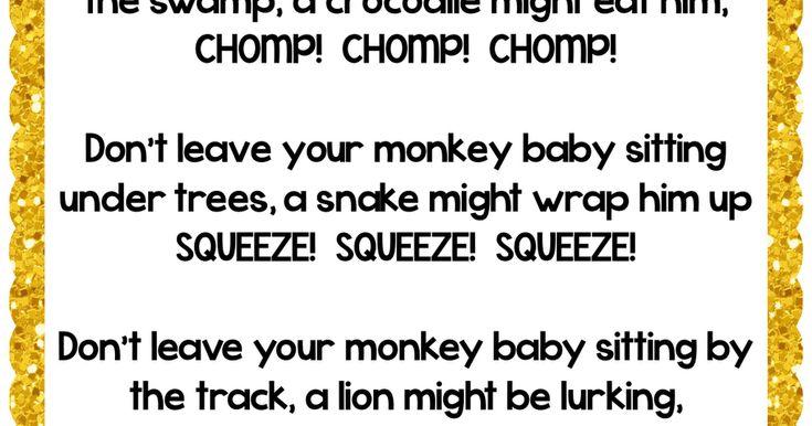 goats and monkeys poem pdf