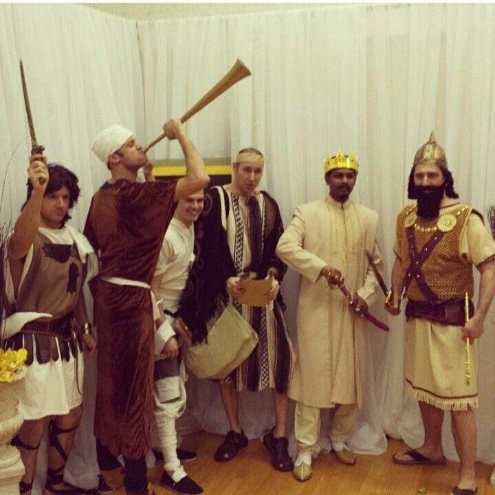 Alexander the Great,  Eutychus, Lazarus, Apollos, Solomon and Naaman.