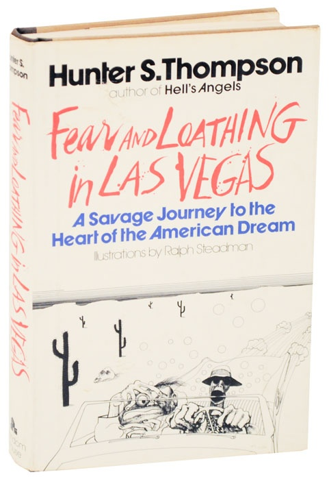 Fear and Loathing In Las Vegas: A savage journey to the heart of the american dreamWorth Reading, Las Vegas, Hunters S Thompson, Book Worth, Hunters Thompson, Hunter Thompson, Loathing, American Dreams, Fear