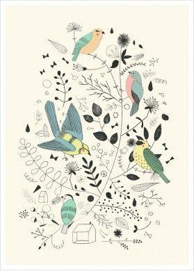 #spring #print
