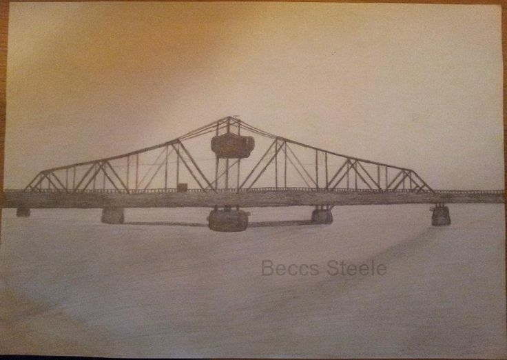 Little Current Swing Bridge Sketch