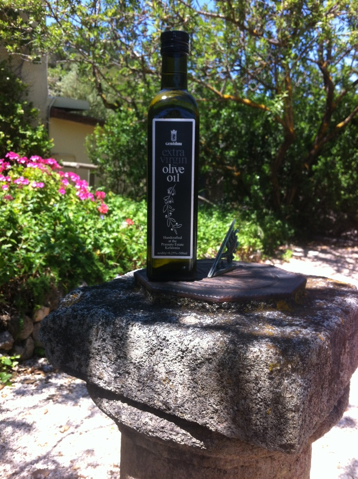 Gentilini extra virgin olive oil!!! A real treat!!