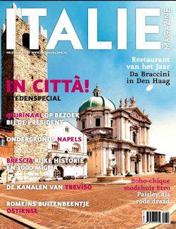 Proefabonnement: 6x Italië Magazine € 25,-: Italië Magazine is het tijdschrift voor liefhebbers van Italië. Met citytrips, streekreportages, Italiaanse mode, design, kunst en cultuur.