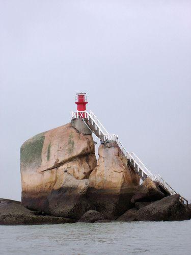 Huang Jiao lighthouse [1973 - Xiamen, Fujian, China]