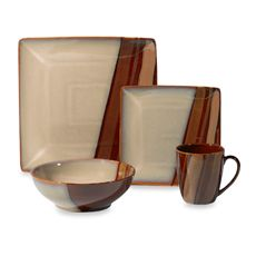 Sango® Avanti Brown Dinnerware - Bed Bath & Beyond