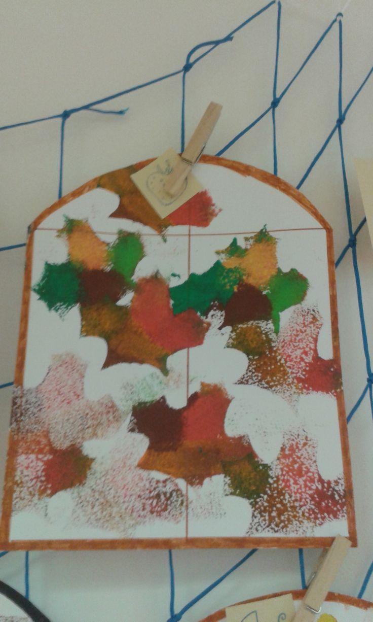 podzimní okénko