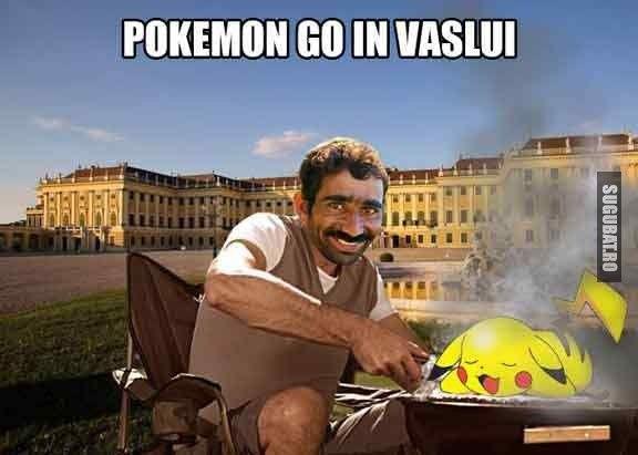 Pokemon Go in Vaslui - Sugubat