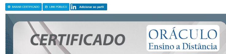 Novidade na Oráculo EAD. Compartilhe os seus certificados de conclusão em seu perfil no Linkedin.     Cursos online em cabeamento estruturado, cabeamento óptico e equipamentos FLUKE NETWORKS: www.oraculoead.com.br    Nossos parceiros:  http://www.claritytreinamentos.com.br/  https://www.facebook.com/ProcedimentosEmTi/  https://www.facebook.com/aulasprofessorramos/  Cursos de Ubuntu, Debian, CentOS, Linux Mint, pfSense, OPNsense, Endian - Secure Everything, Zabbix, FreeNAS Community, GNS3 e…