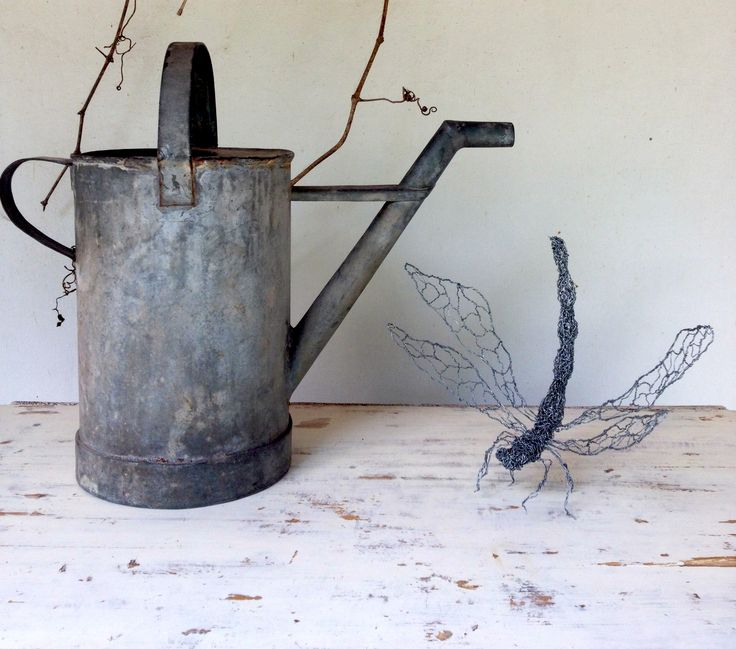 Dragonfly, wire sculpture available through sudakworkshop