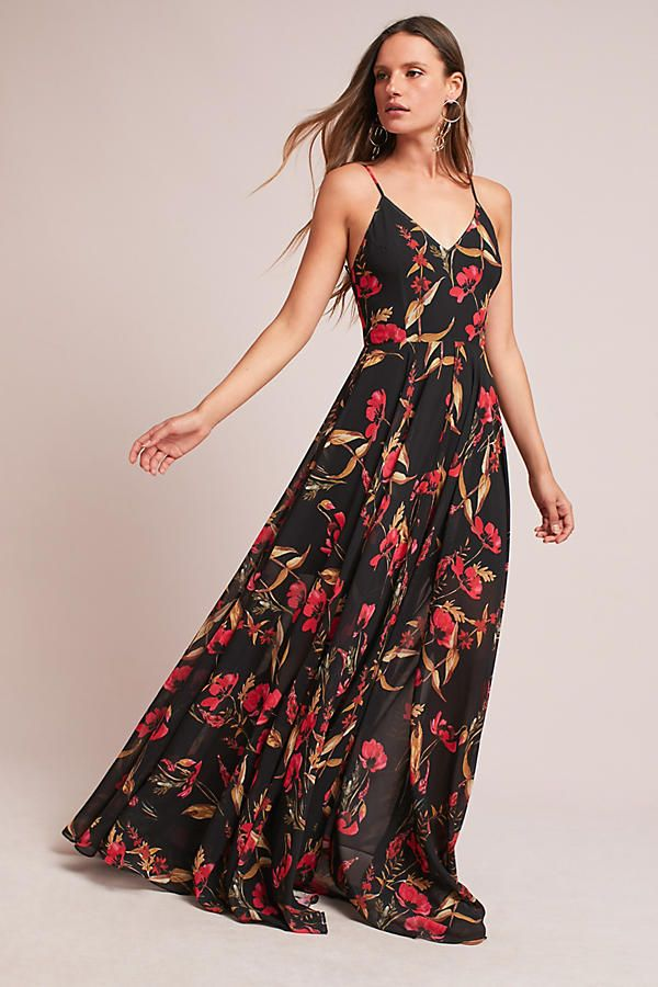 Vernalis maxi dress anthropologie coupon