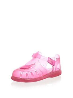 27% OFF igor Kid's Tobby Corazones Sandal (Fucsia)