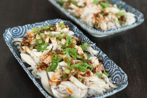 Fuchsia Dunlop inspired cold chicken salad sichuan style!