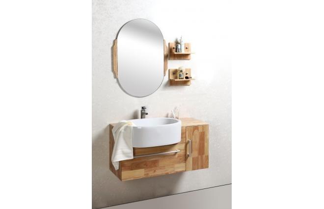 Meuble de salle de bain vasque meuble sous vasque - Mini etagere salle de bain ...