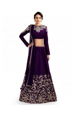 Beautiful Embroidered Lehenga Choli