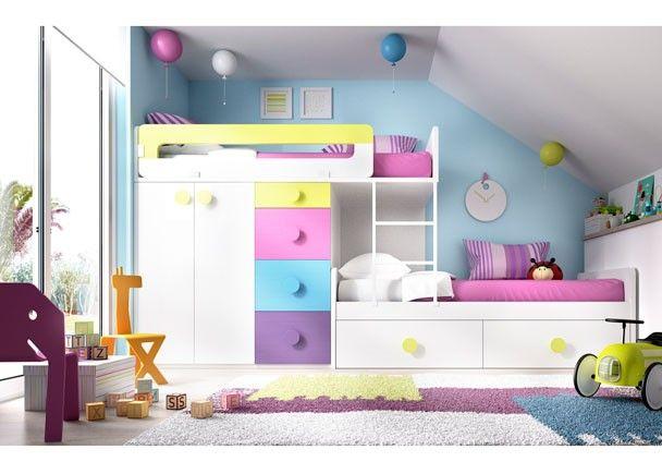 Las 25 mejores ideas sobre cajoneras infantiles en - Dormitorio infantil segunda mano ...