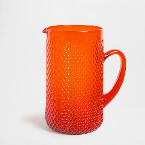 jarro vidro painel laranja garrafas copos e jarros mesa zara home brasil with tableau en verre. Black Bedroom Furniture Sets. Home Design Ideas