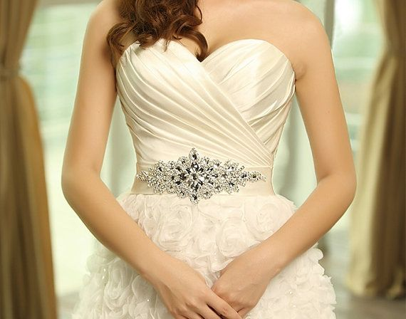 Wedding Gowns With Bling: 25+ Best Ideas About Rhinestone Wedding Dresses On