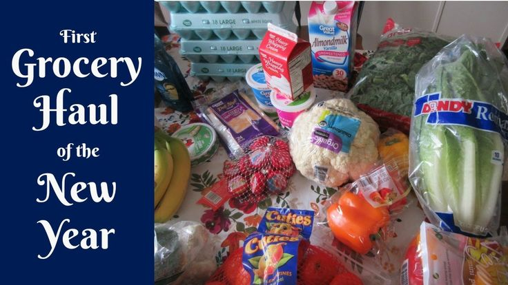 GROCERY HAUL | FIRST SHOPPING HAUL OF THE NEW YEAR