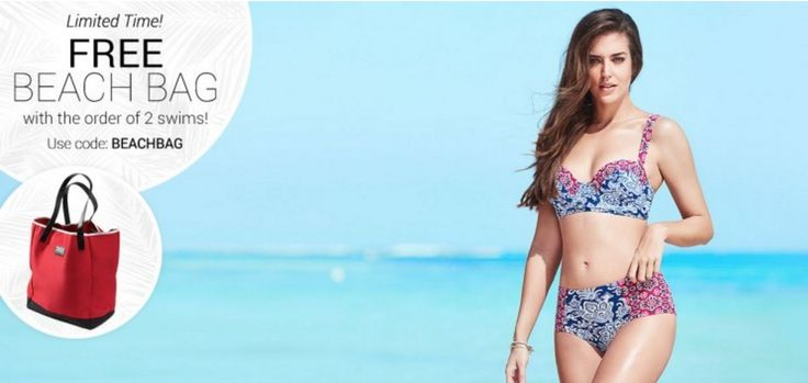 Adore Me Swimwear Sale - Free Beach Bag! - Get a free beach bag with your swimwear purchase! Or get 50% off your first order!