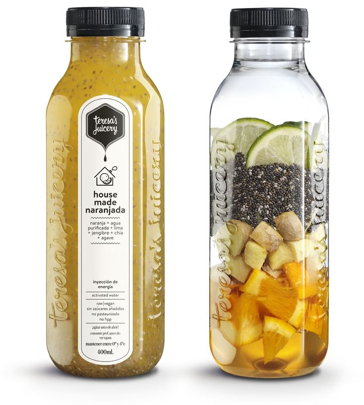 Housemade Naranjada  Naranja + Agua purificada + Lima + Jengibre + Chía + Agave