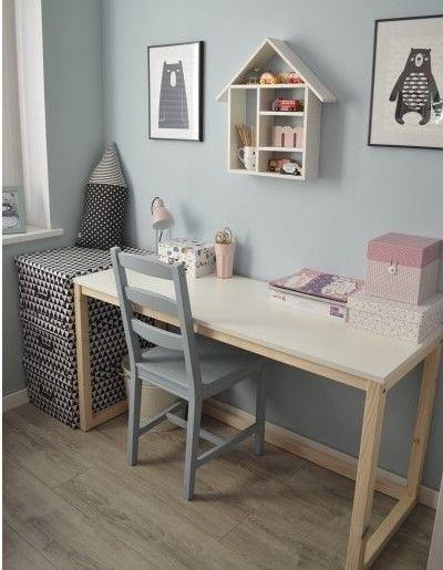 Scandinavian style is already very popular. This table is in the spirit of this style. 💚😊