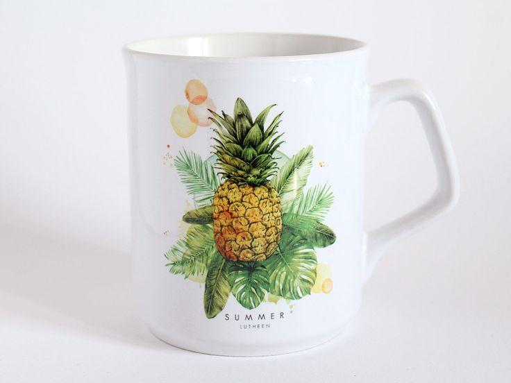 Tasse Mug Ananas Tropical