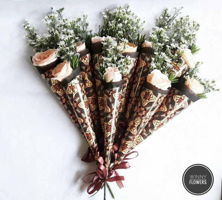 Flowers Cone for Kartini Day