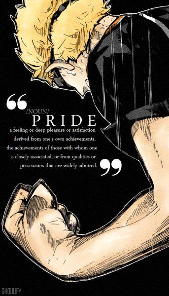 Tsukishima Mobile Wallpaper (What more do you need than pride?!?!)