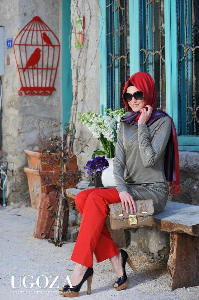 Ugoza Eşarp & Butik'in çekimleri Alaçatı'nın doğal atmosferinde yapıldı.