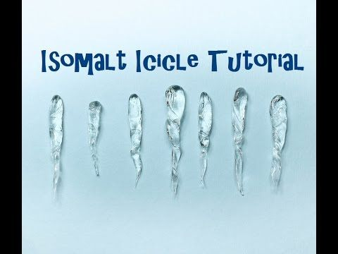 Isomalt Sugar Icicle Tutorial for Cake Decorating - YouTube