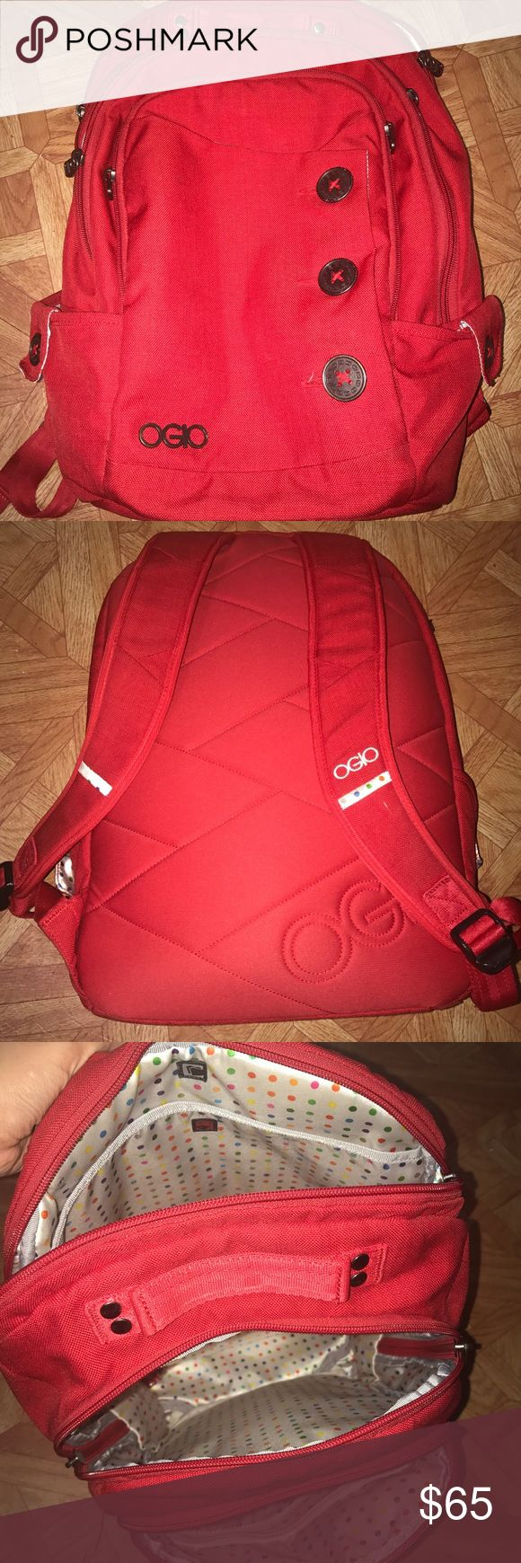 OGIO backpack! It is perfect for high school or college. Has a lot of space and a lot of pockets to keep everything organized! OGIO Bags Backpacks