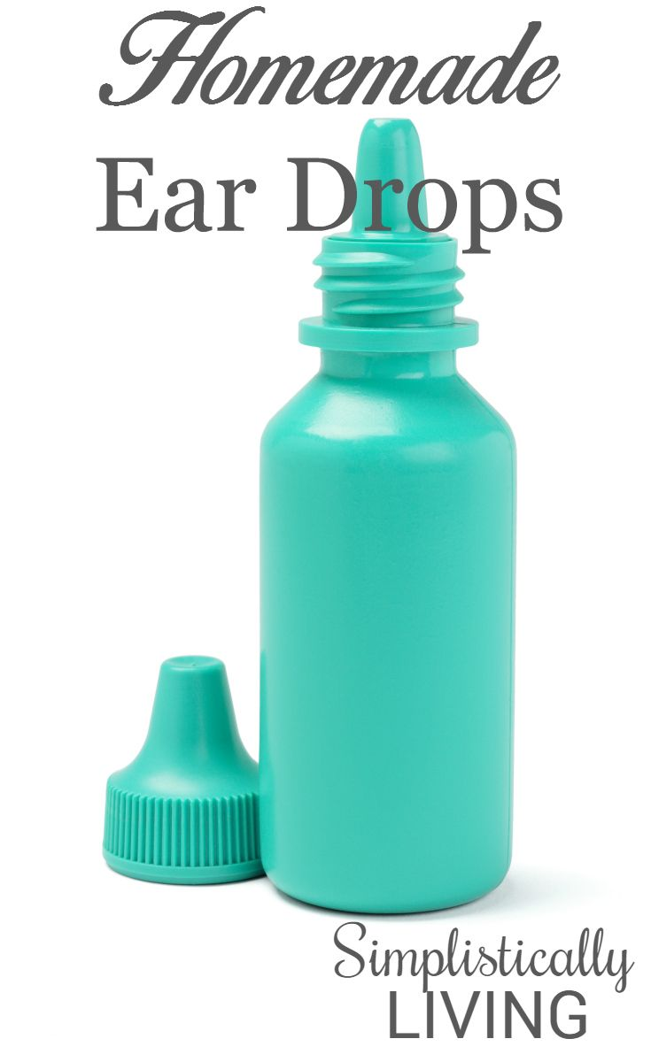 Homemade Ear Drops- Perfect for soothing sore ears!
