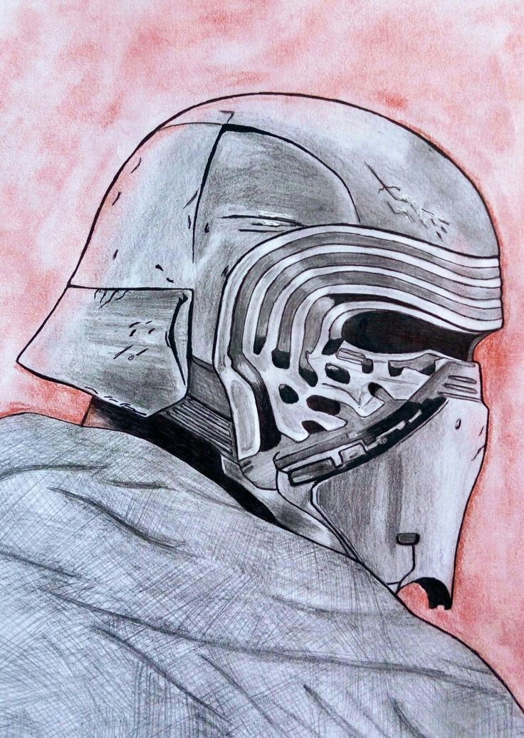 Kylo Ren's Mask; January 2017
