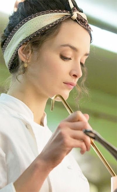 Marguerite the French chef in the feature The Hundred-Foot Journey Movie