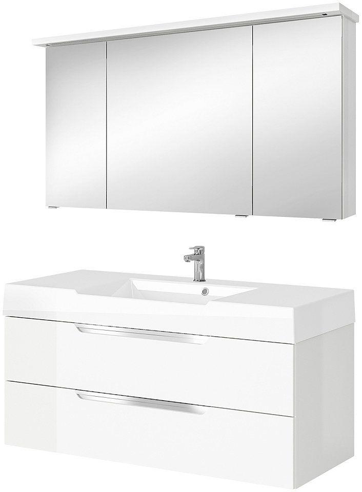 PELIPAL Badmöbel-Set »Solitaire 7020«, Breite 120 cm, mit LED Beleuchtung (6 Watt) Jetzt bestellen unter: https://moebel.ladendirekt.de/bad/badmoebel/badmoebel-sets/?uid=31b3fcc5-de2c-5679-a111-27d2113f4d55&utm_source=pinterest&utm_medium=pin&utm_campaign=boards #bad #badmoebel #badmoebelsets