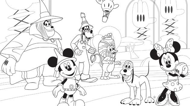 Print And Color Pictures Of Your Favorite Mickey Mouse Clubhouse Friends Enjoy Coloring Pages Other Fun Creative Activities On