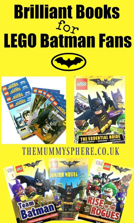Here are a collection of brilliant books for LEGO Batman Movie fans, or kids who just love Batman. From Phonics readers to Junior Novels there is a great selection here that will get children reading.