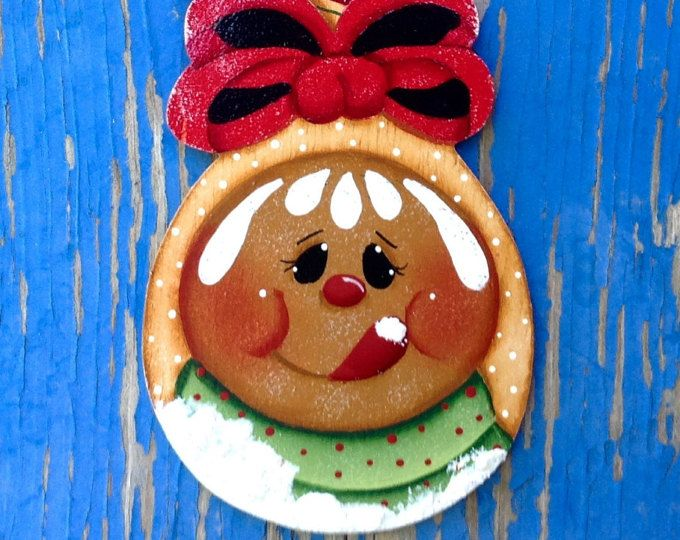 NEW 2017 - Holiday Ginger Spoon Ornament
