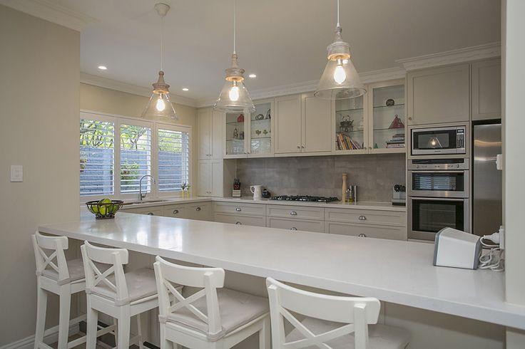 modern hamptons style kitchen - Google Search