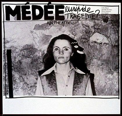 Medea. Euripides. Tragedy? Ain Theatre. Popular Theatre of Ain. Company's Michaille.