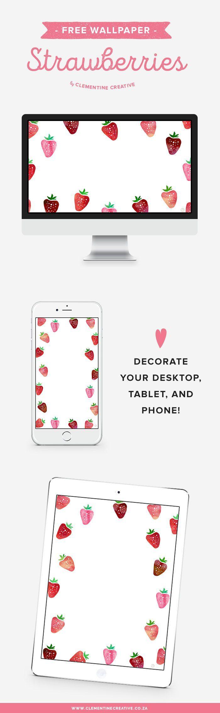 Kostenloser Download von Hintergrundbildern: Erdbeeren