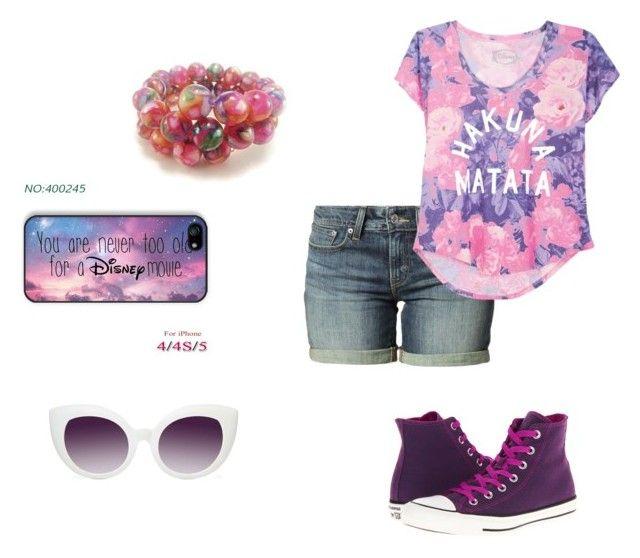 Disney Magic by paigiepeaches on Polyvore featuring polyvore, мода, style, Levi's, Converse, Disney, Crap and DisneyMagic