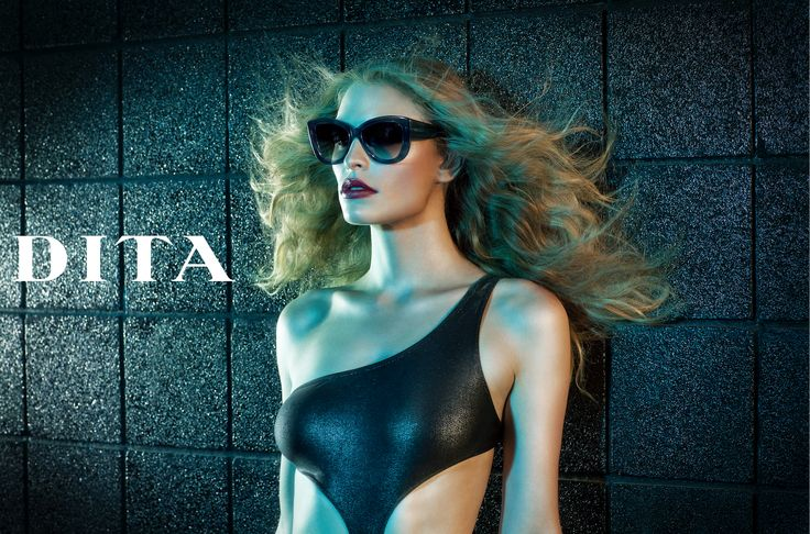DITA campaign shoot with our pal Lionel Deluy and one of our favorite models Cynthia Kirchner. #DITAeyewear