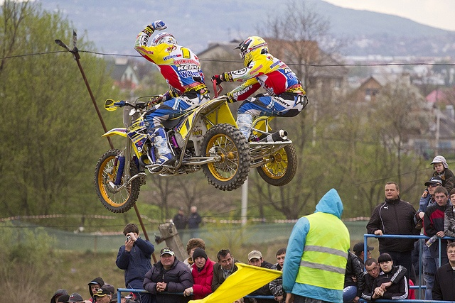 Sidecar Motocross World Championship.  how did I not know such a thing existed? Awesome.