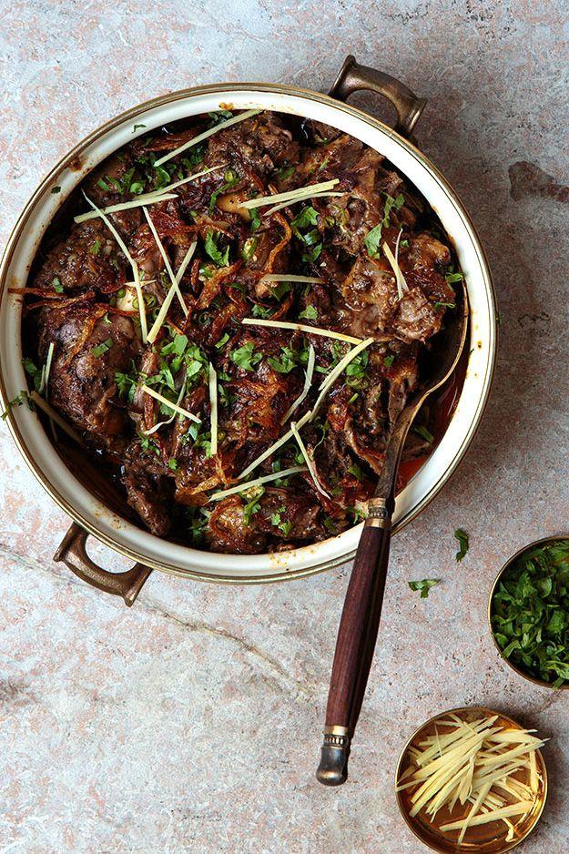 pakistani lamb stew.