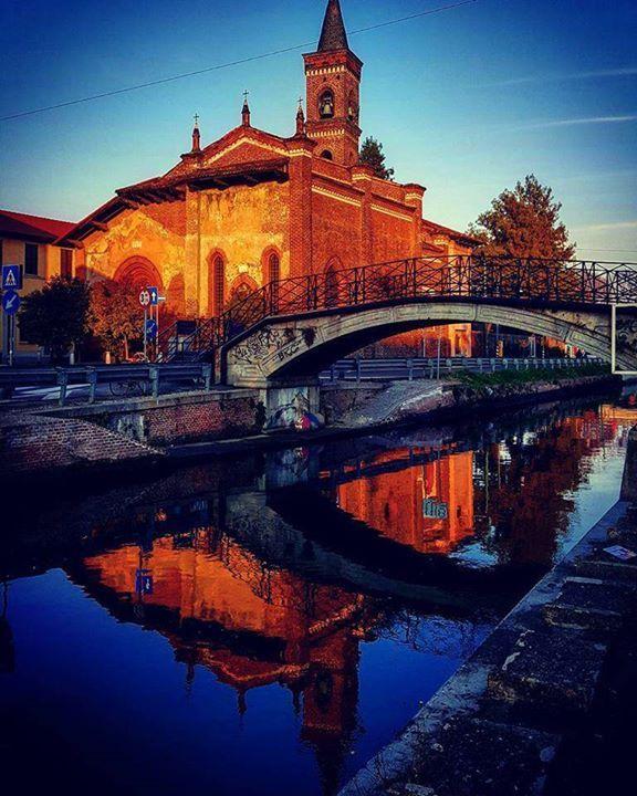 Sempre entusiasmante San Cristoforo Foto di Antoine Laguerre #milanodavedere Milano da Vedere