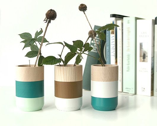Best 25 Wooden vase ideas only on Pinterest Decorating vases