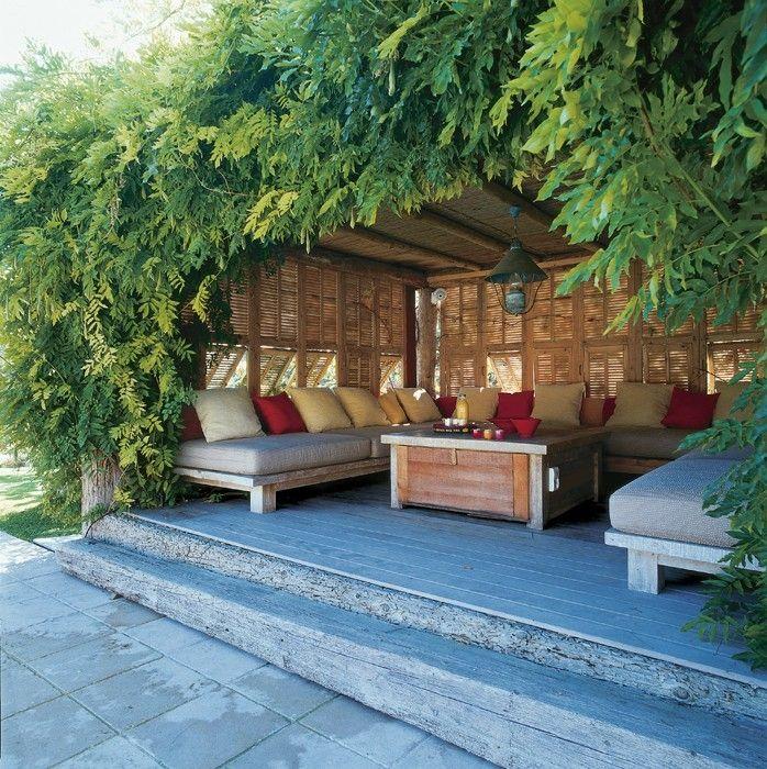 54 best les terrasses images on pinterest - Idee deco terrasse ...