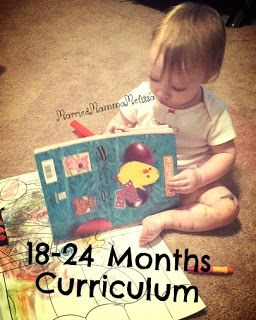 "Married Mama Melissa: 18 - 24 Month Toddler ""Curriculum""                                                                                                                                                                                 More"